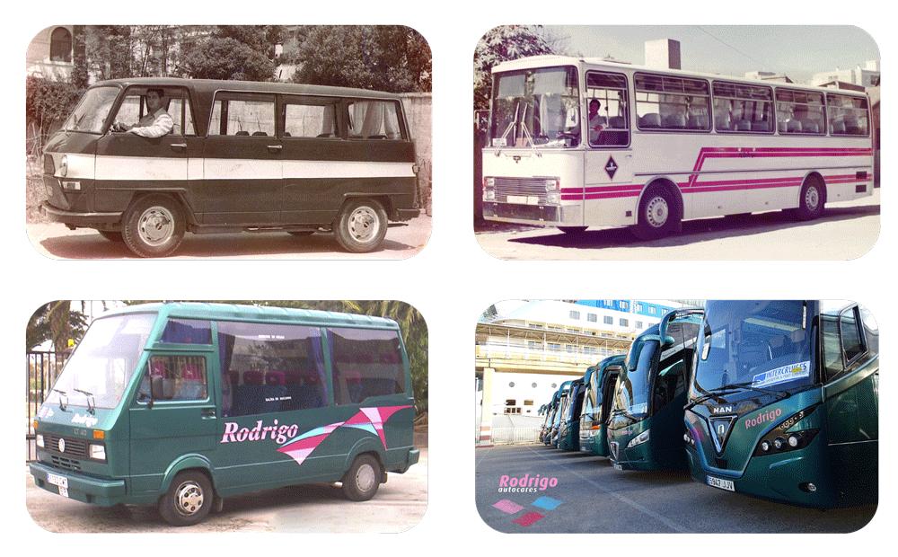 Autocares Rodrigo desde 1970
