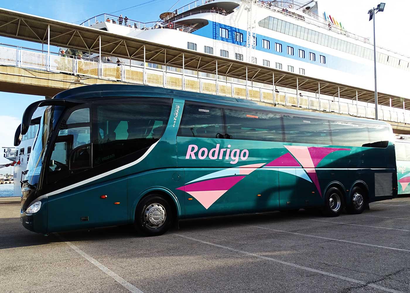 Autocares Rodrigo | Flota Autobuses 63 plazas