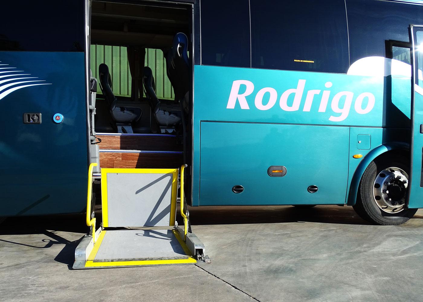 Autocares Rodrigo | Vehículos Adaptados