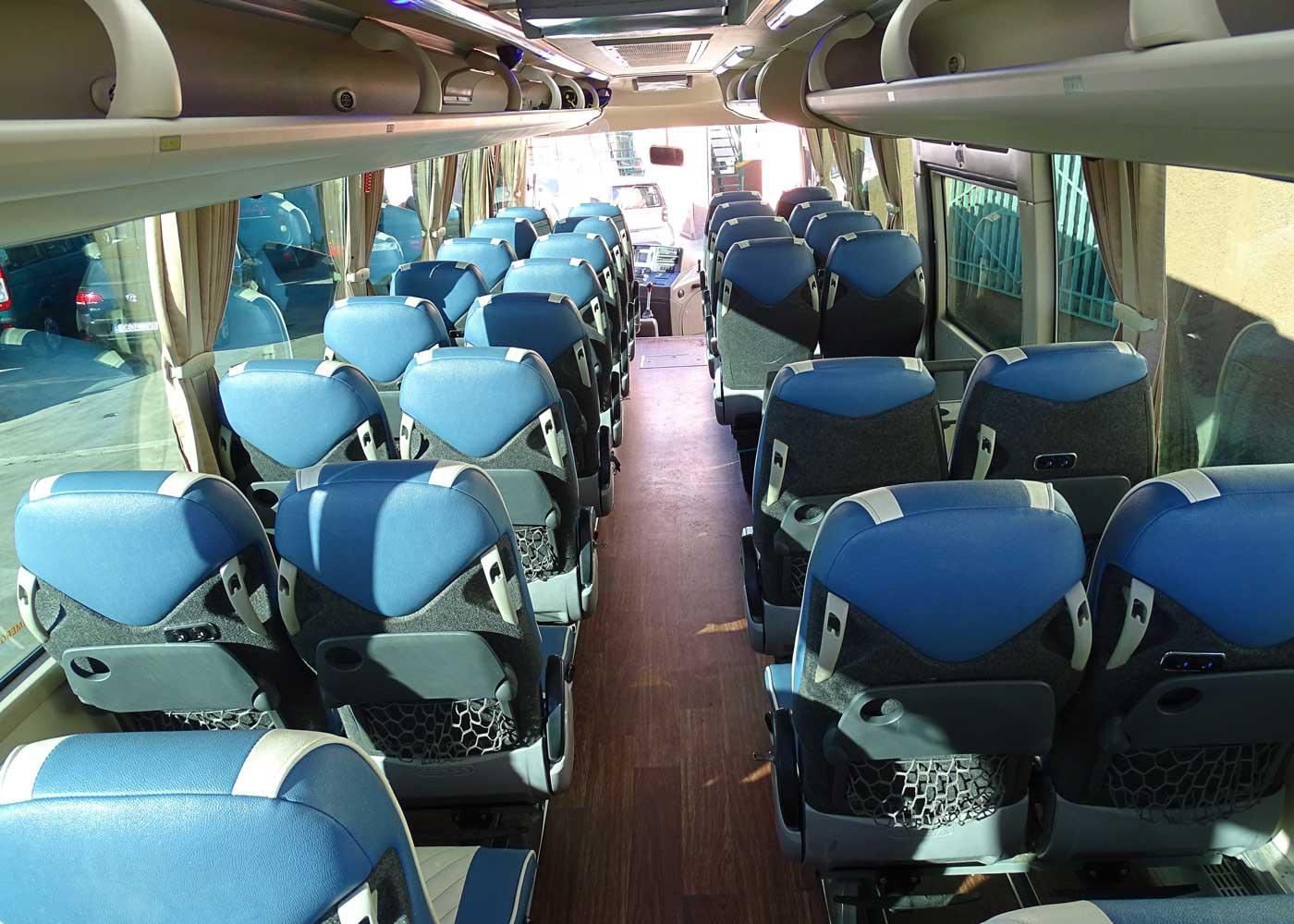 Autocares Rodrigo | Flota Minibuses 40 plazas